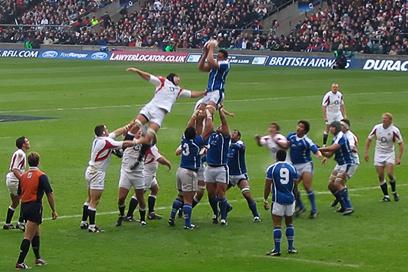 England vs. Samoa @ Twickenham - Line out