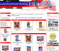 americansoda.co.uk website screenshot
