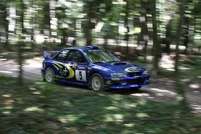 Subaru Rally Car @ Goodwood Festival Of Speed 2008