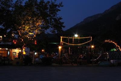 Promenade Bar at Dusk