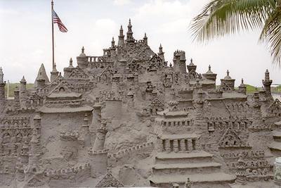 Sand Castle - Miami Beach.